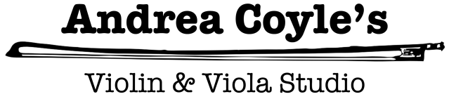 Andrea Coyle's Violin & Viola Studio