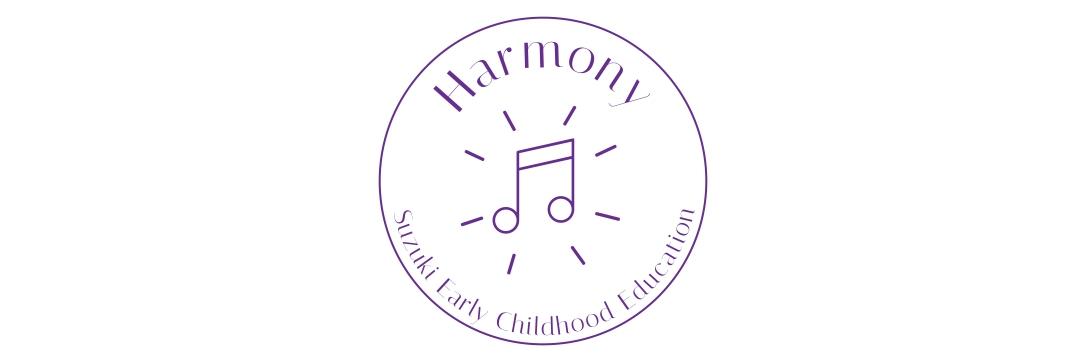 Harmony Logo Wide White BG